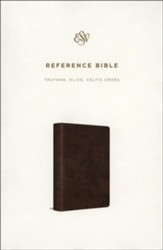 ESV Reference Bible (TruTone, Olive, Celtic Cross Design)