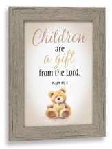 Children Are A Gift From the Lord Framed Art
