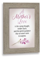 A Mother's Love Framed Art
