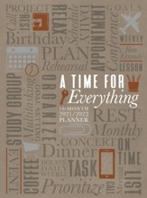 2022 A Time for Everything 18-Month Planner with Zipper