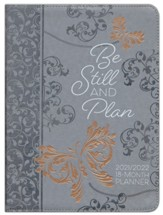 2022 Be Still and Know 18-Month Planner with Zipper