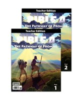 BJU Press Bible 4 Pathway of Promise  Teacher's Edition (2 Volumes)