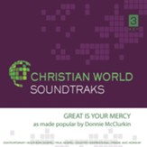 Great is Your Mercy Accompaniment CD