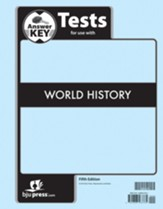 BJU Press World History Assessments Answer Key (5th Edition)