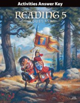 BJU Press Reading 5 Activities Answer Key (3rd Edition)