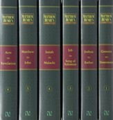 Matthew Henry's Commentary on the Whole Bible, 6 Volumes
