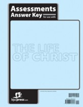 BJU Press Bible 8 Life of Christ Assessments Key