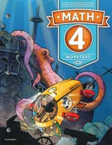BJU Press Math 4 Student Worktext (4th Edition)