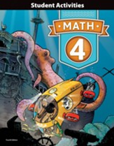 BJU Press Math 4 Student Activities (4th Edition)