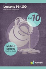 Answers Bible Curriculum Middle School Unit 10 Student Guide (2nd Edition)