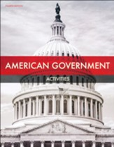 BJU Press American Government  Student Activity Book (4th Edition)