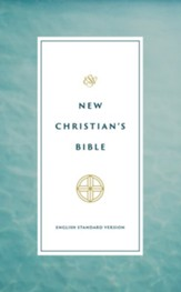 ESV New Christian's Bible, hardcover