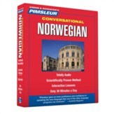 Conversational Norwegian 16 Lessons, 8 CDS