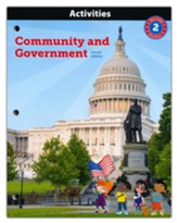 BJU Press Heritage Studies Grade 2 Activities:  Community and Government (4th Edition)