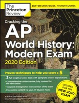 Cracking the AP World History:  Modern Exam, 2020 Edition: Practice Tests and Prep for the NEW 2020 Exam