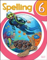 BJU Press Spelling 6 Student  Worktext, 2nd Edition (Copyrigh  t Update)