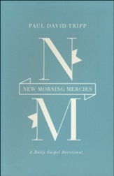New Morning Mercies: A Daily Gospel Devotional, Brown  Imitation Leather