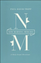 New Morning Mercies: A Daily Gospel Devotional, Blue Imitation Leather Gift Edition