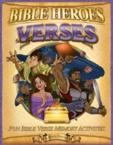 Verses, Bible Heroes Activity Book