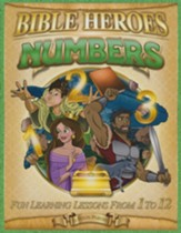 Numbers, Bible Heroes Activity Book
