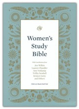 ESV Women's Study Bible--cloth over board, dark teal