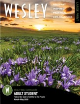 Wesley: Adult Large Print Bible Student, Spring 2020