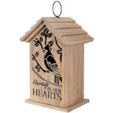 In Our Hearts. Wood LED Lantern