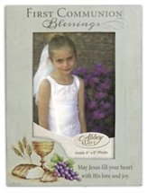 First Communion Blessings Photo Frame