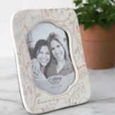 Faith Strength Beauty Photo Frame