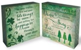 Irish Blessings, 2-Sided Block Art