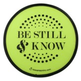 Be Still and Know Foldable Fan
