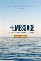 The Message Outreach Edition, Large-Print, softcover