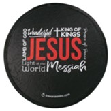Names of Jesus Foldable Fan