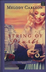 String of Pearls: The Mulligan Sisters, Large-Print