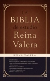 Biblia de Estudio Reina Valera 1909, Enc. Dura  (Reina Valera 1909 Study Bible, Hardcover) - Slightly Imperfect