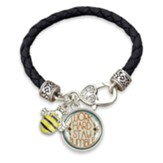 Work Hard, Stay Bumble Bracelet