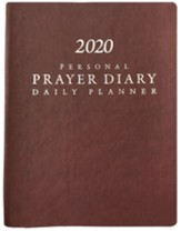 2020 Prayer Diary - Burgundy - (Matte/Smooth Finish)
