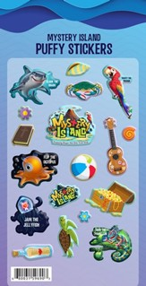 Mystery Island: Puffy Sticker Set