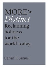MORE Distinct: Reclaiming Holiness for the World Today