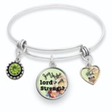 Joy of the Lord is My Strength Bangle Bracelet