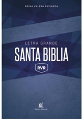 RVR Large-Print Bible, softcover