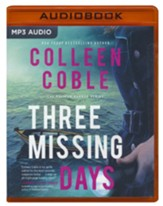 Three Missing Days Unabridged Audiobook on MP3-CD