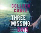 Three Missing Days Unabridged Audiobook on CD
