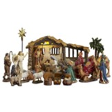 Real Life Nativity, 5 In Size, Complete Collection