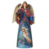 Indoor/Outdoor Lighted Nativity Angel Statue