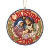 2019 Dated Nativity Ornament