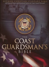 HCSB Coast Guardsman's Bible, Blue Simulated Leather