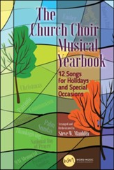The Church Choir Musical Yearbook, Choral Book