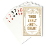 Thou Shalt Not Cheat Playing Cards