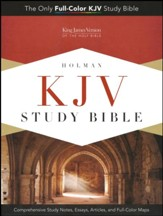 KJV Study Bible, Lavender imitation leather